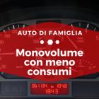 Monovolume con meno consumi - Auto di famiglia