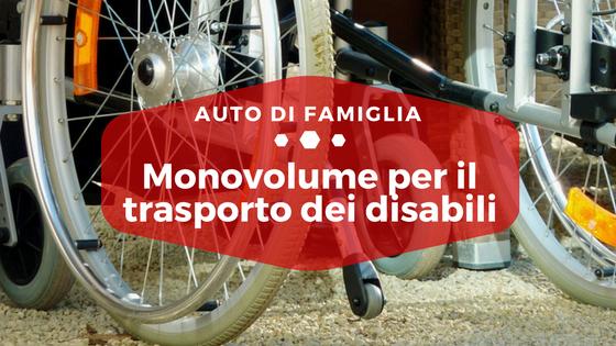 Monovolume per il trasporto dei disabili - Auto di Famiglia