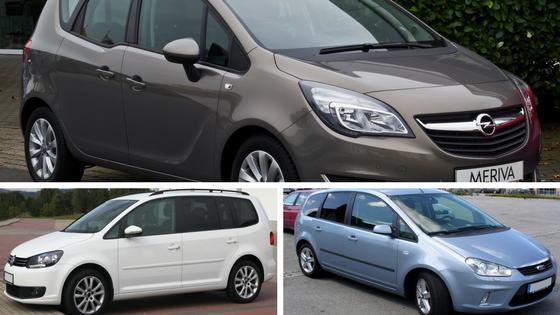 Opel meriva - Ford CMax- Volkswagen Touran - Auto di Famiglia