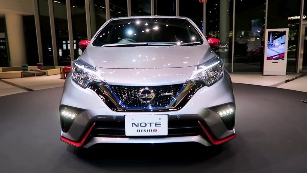 Nissan Note Nismo S Frontale
