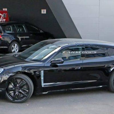 Porsche Taycan Foto Spia