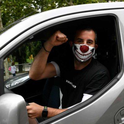 mascherina auto