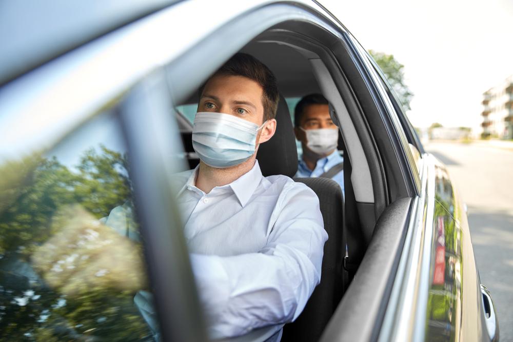 mascherina auto veneto